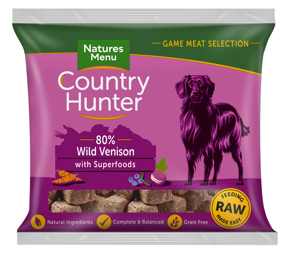 Country Hunter Venison Nuggets 1kg