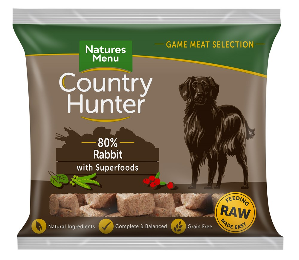 Country Hunter Rabbit Nuggets 1kg