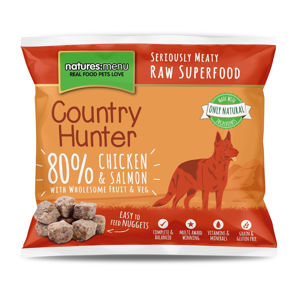 Country Hunter Salmon Nuggets 1kg