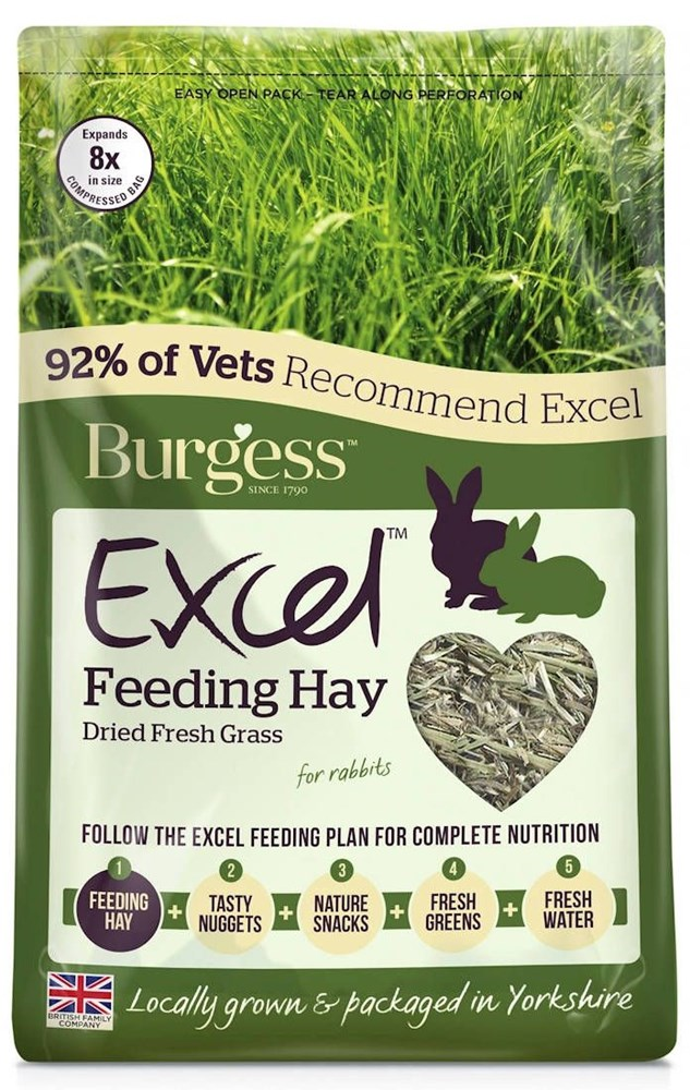 Burgess Excel Fresh Forage 1kg
