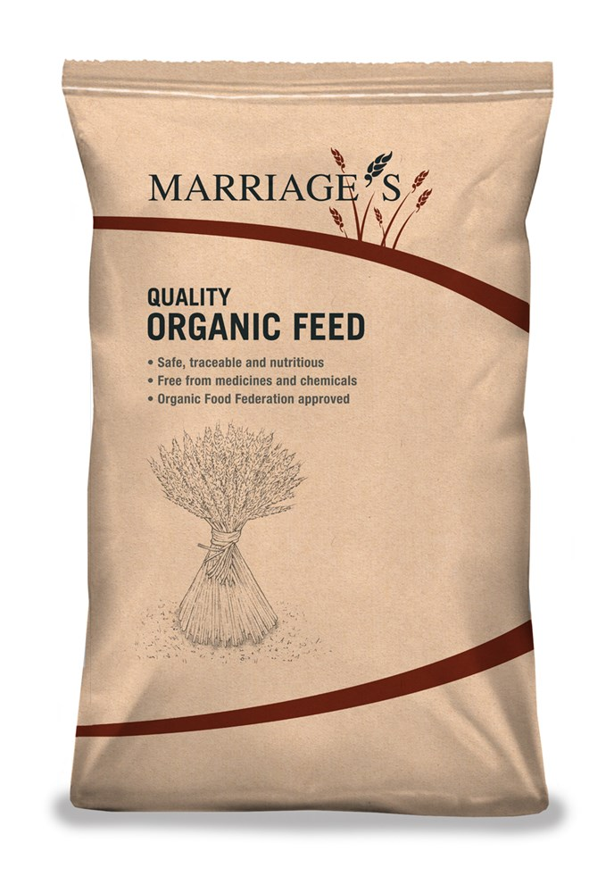 Marriages Organic Layers Mash 20kg