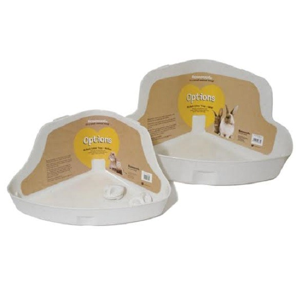 Corner Litter Tray Large