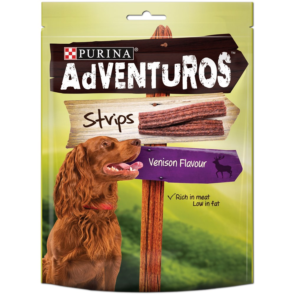 Adventuros Strips Venision 90g