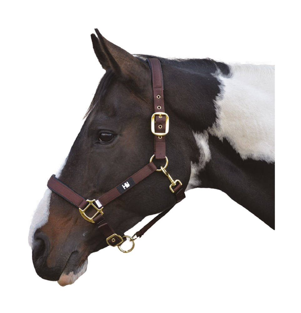 HY GRAND PRIX HEADCOLLAR COB CHOC BROWN