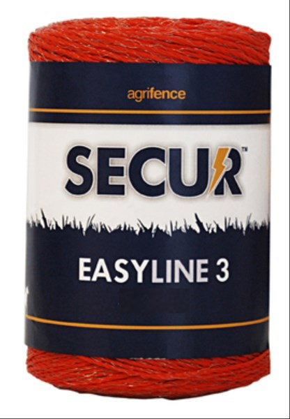Easyline 3 Orange Polywire x 250m