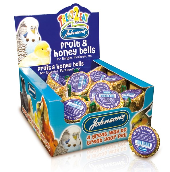 Johnsons Budgie Fruit And Honey Bell 34g
