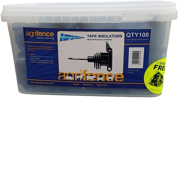 Agrifence Tape Insulator (100 pack)