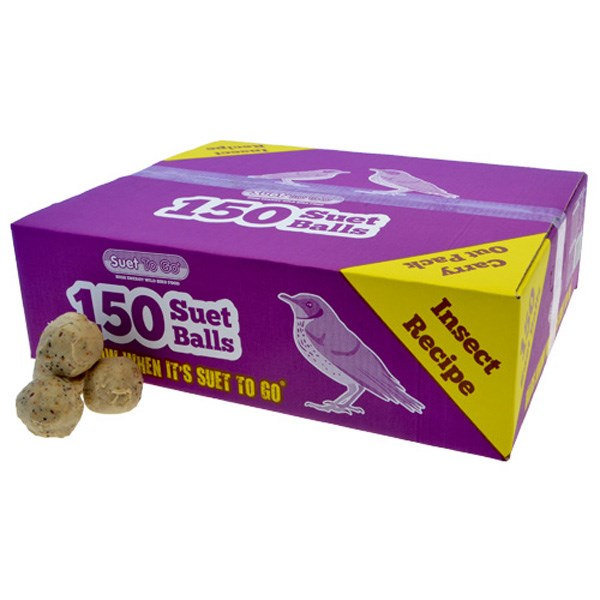Suet To Go Fat Balls - 150 pack