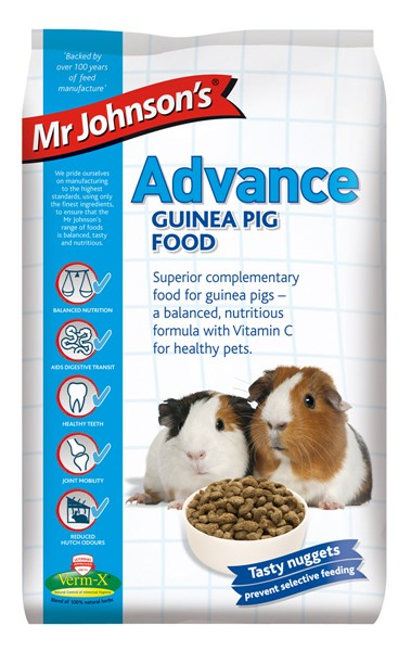 Mr Johnson's Advance Guinea Pig Food 1.5kg