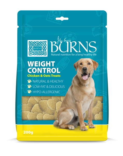 Burns Weight Control Chicken and Oats Treats 200g