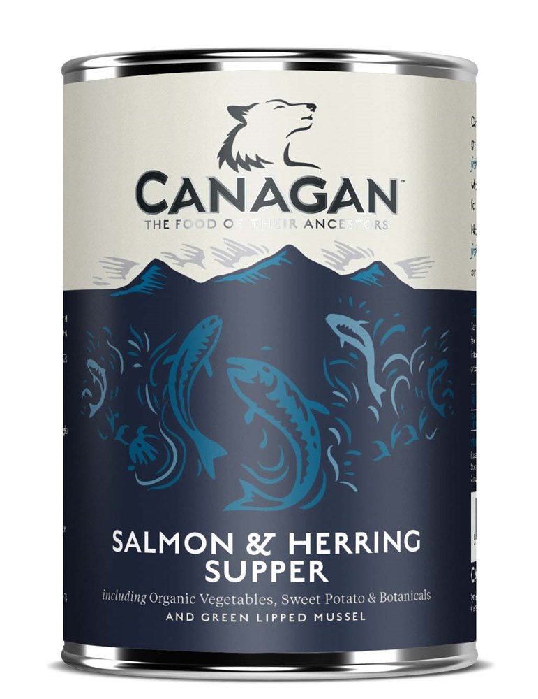 Canagan Can Salmon and Herring Supper 400g