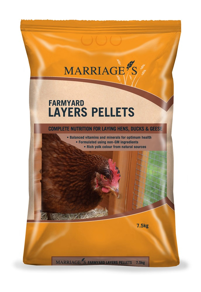 Marriage's Farmyard Layers Pellets 7.5kg