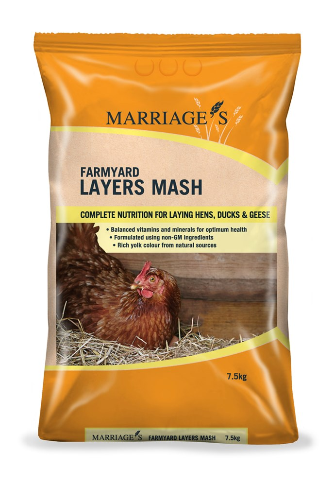 Marriages Layers Mash 7.5kg