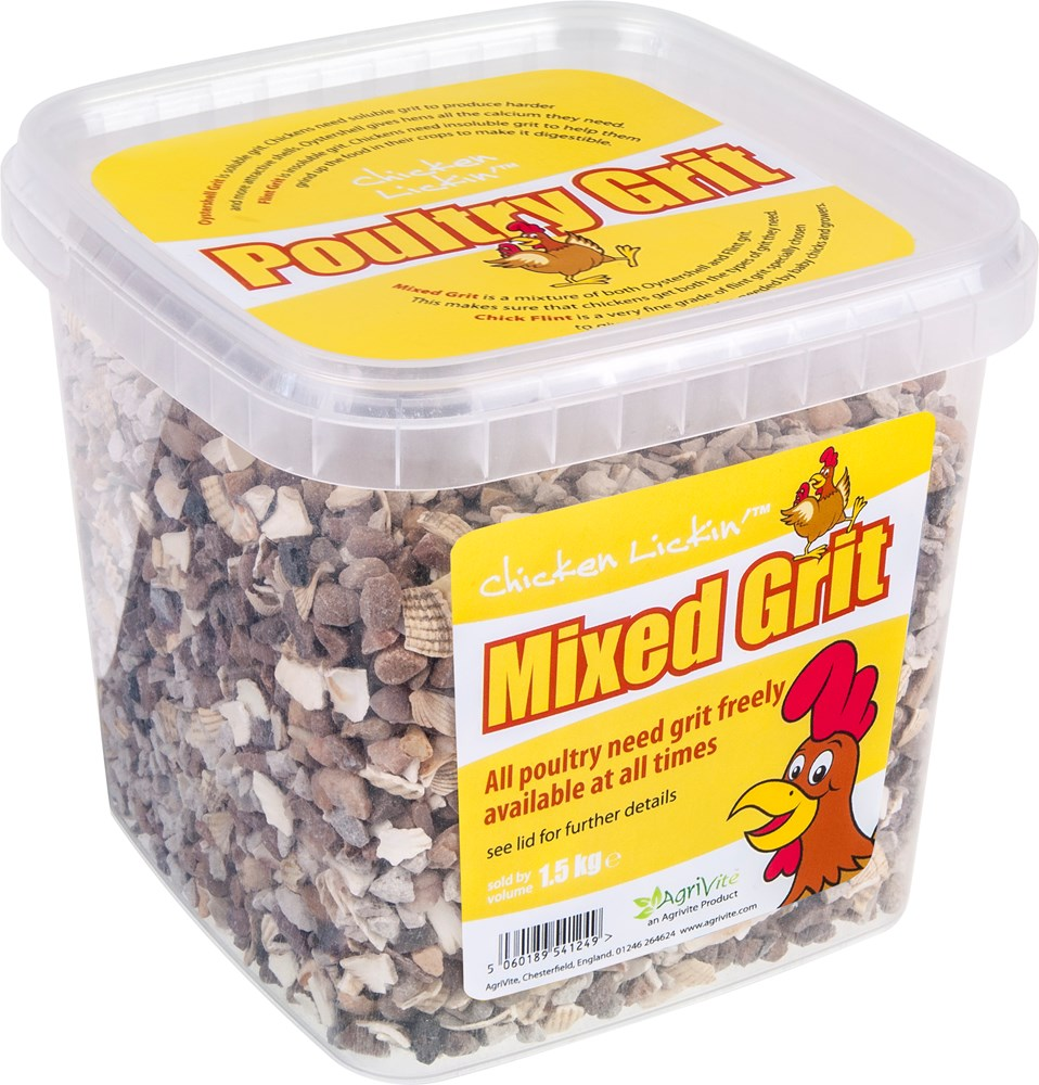 Agrivite Mixed Poultry Grit 1.5kg