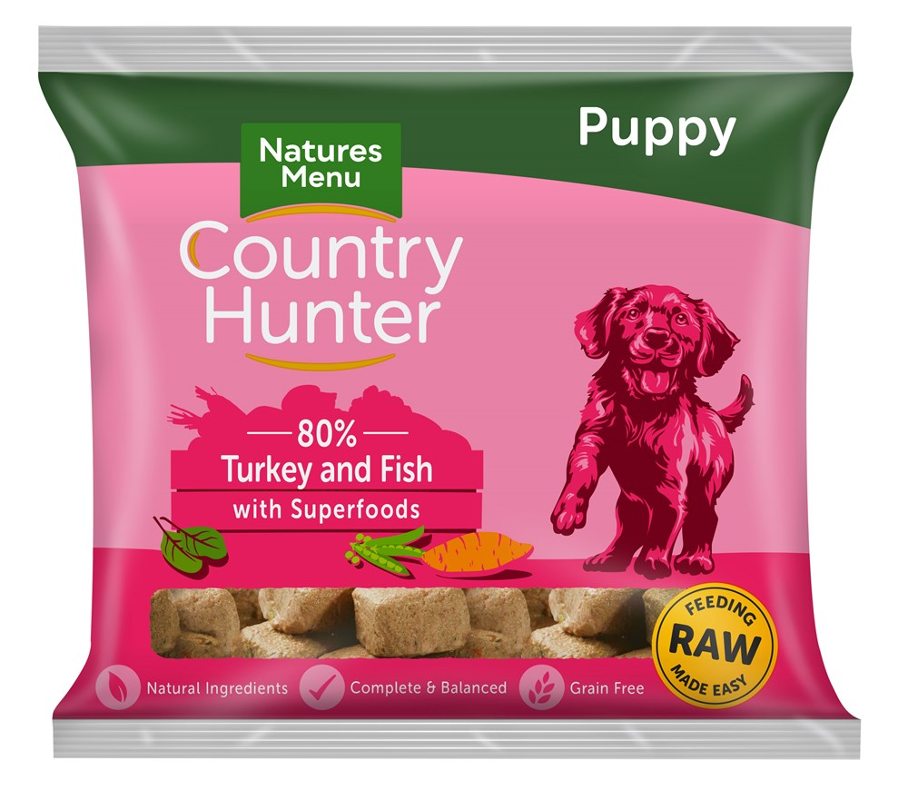 Country Hunter Turkey & Fish Puppy 1KG