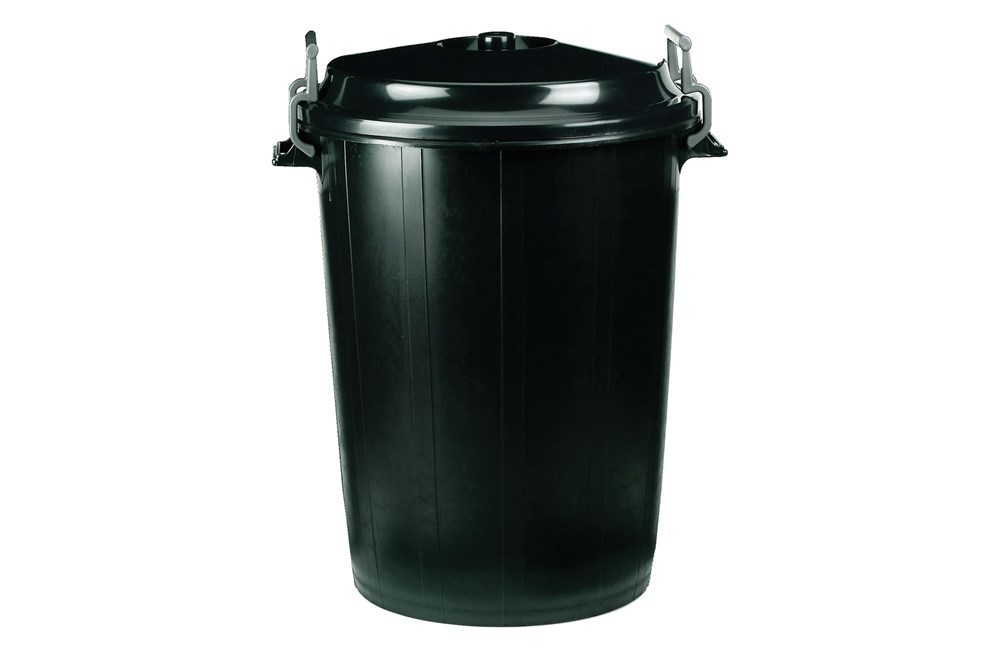 Bin with Lockable Lid 100 Litre