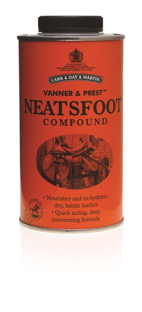 Carr Day and Martin Vanner and Prest Neatsfoot Oil 500ml