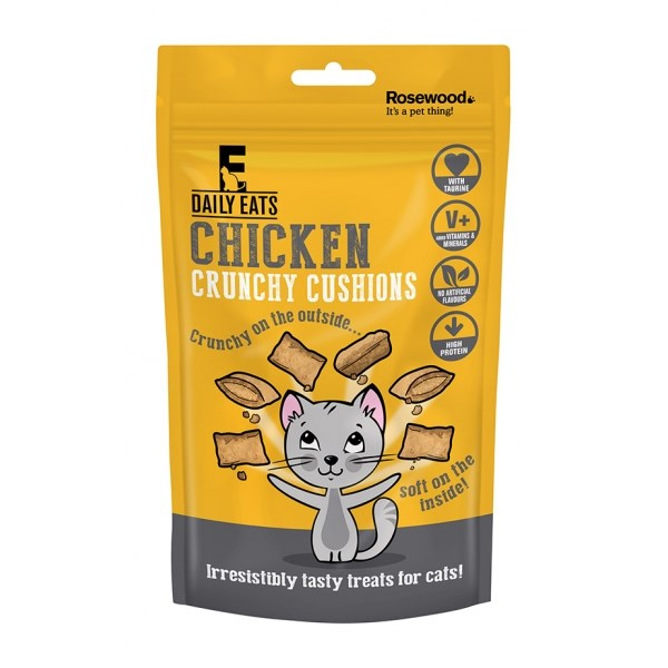 Leaps and Bounds Chicken Crunchy Cushions 60g