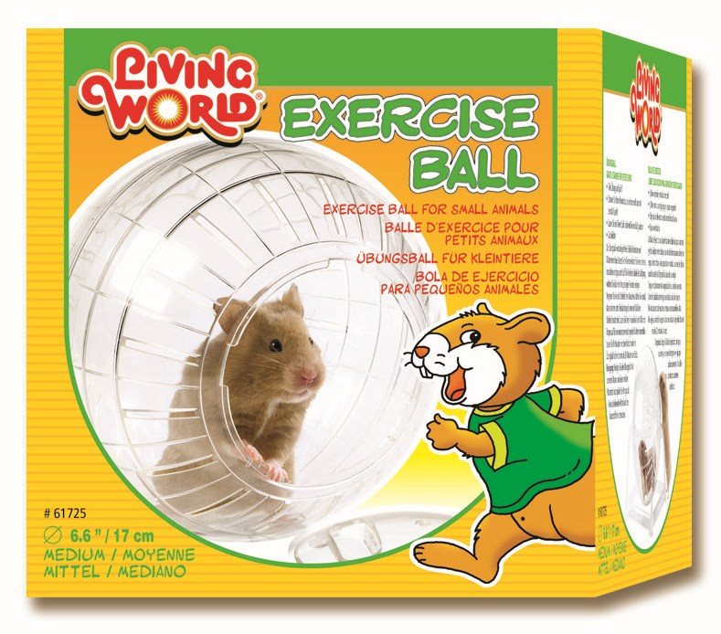 Living World Exercise Hamster Ball Medium 17cm