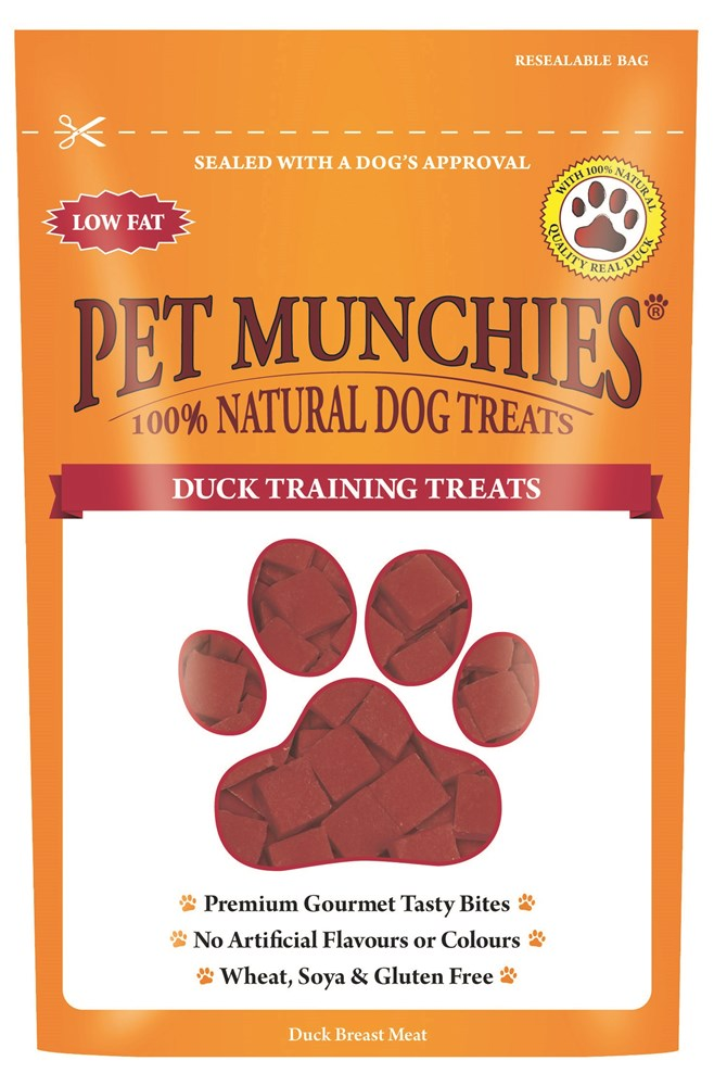 Pet Munchies Training Treats Duck 50g