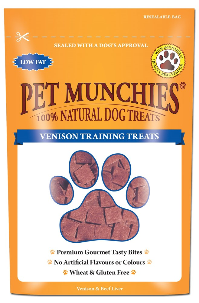 Pet Munchies Training Treat Venison 50g