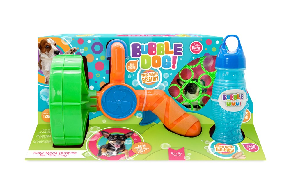 Supersize Bubble Electric Gun
