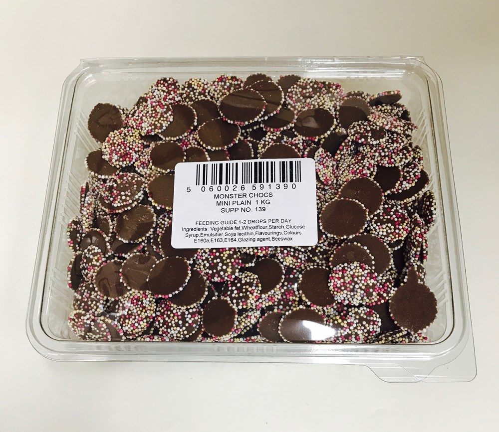 Plain Chocolate Mini Discs 1kg