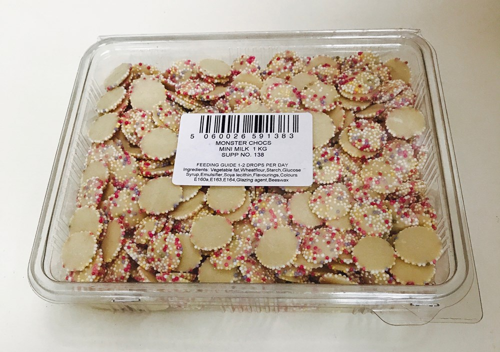 Milk Chocolate Mini Discs 1kg