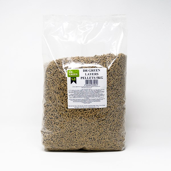 Dr Green Layers Pellets 15kg