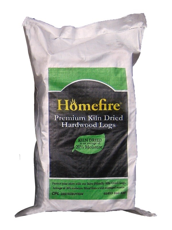 Homefire Kiln Dried Hardwood Logs approx. 22KG