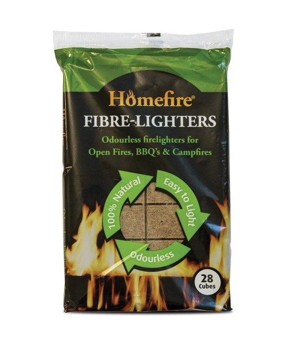 Homefire Fibre-Lighters 28 Cubes
