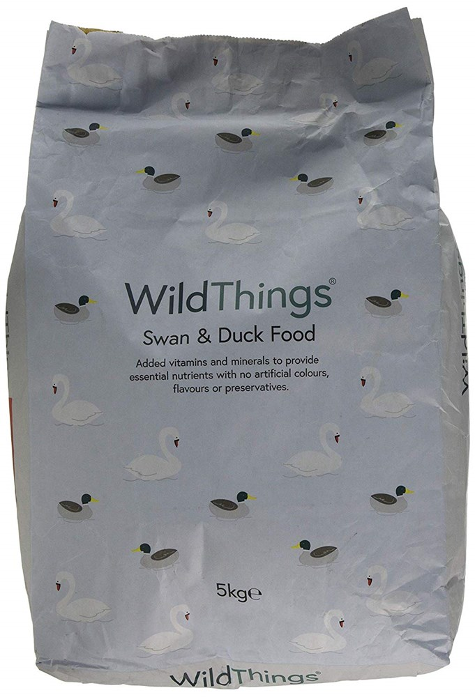 Wild Things Swan and Duck Floating Food 5KG