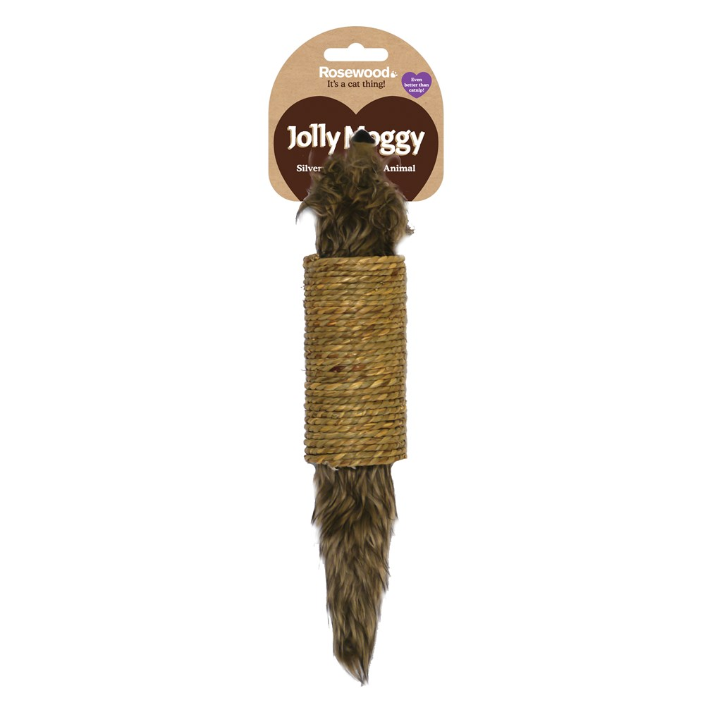 Seagrass Animal Cat Toy