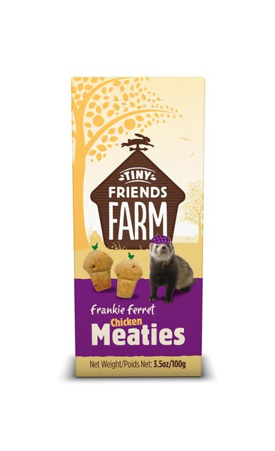 Frankie Ferret Chicken Meaties 100g