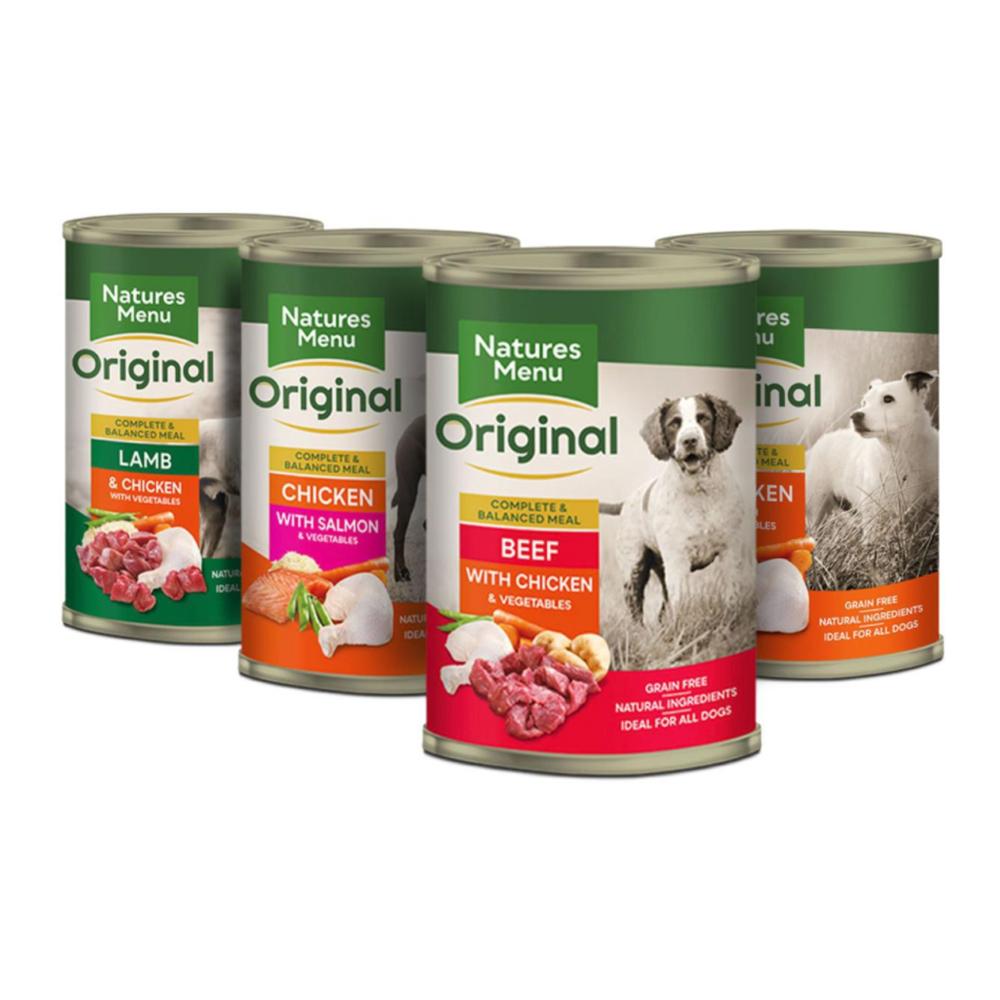 Natures Menu Dog Multipack 12 x 400g - Tinned Dog Food ...