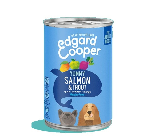 Edgard Cooper Adult Salmon and Trout 400g