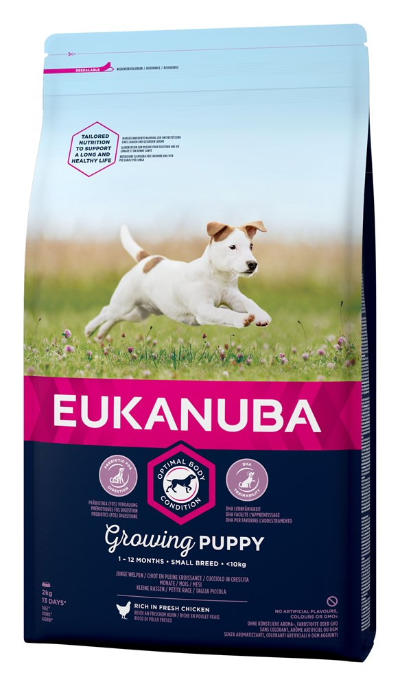 EUKGrowing Puppy Small Breed Chicken 2kg
