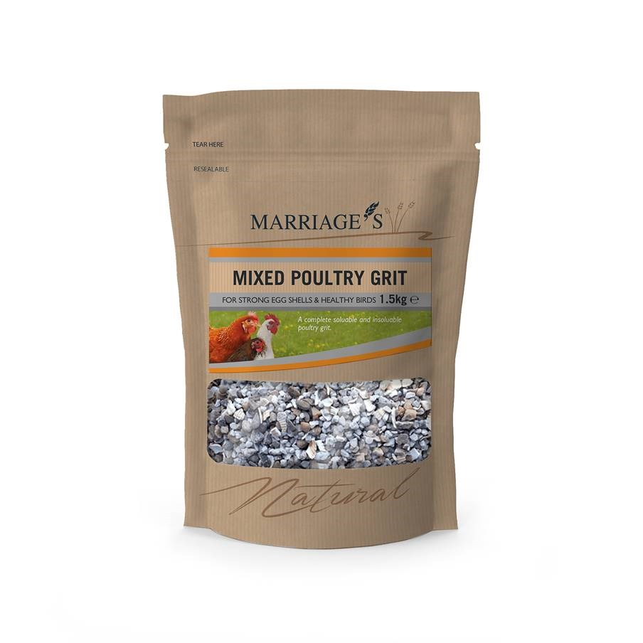 Marriage's Mixed Poultry Grit 1.5kg