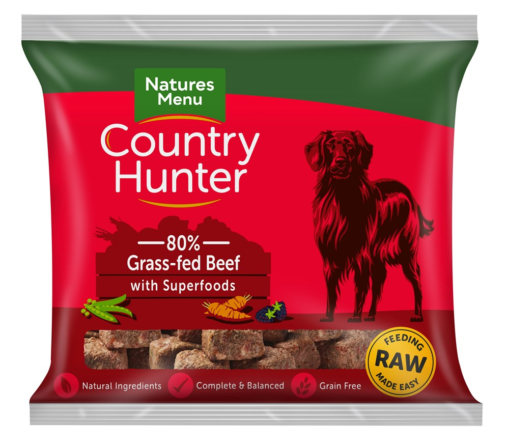 Country Hunter Beef Nuggets 1kg