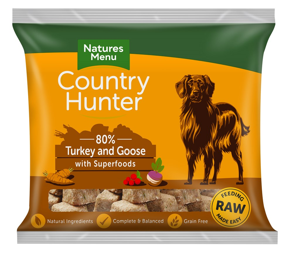 COUNTRY HUNTER TURK & GOOSE NUGGETS 1KG