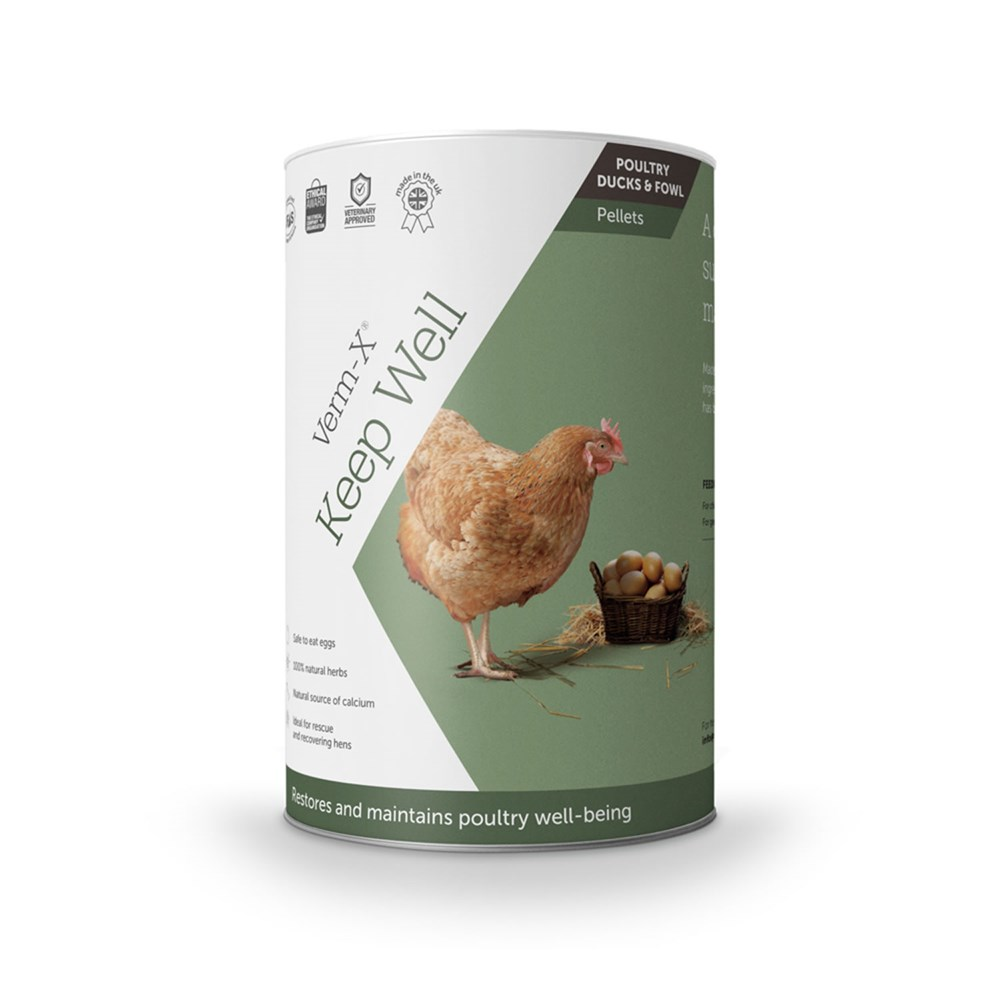 VERM-X KEEP WELL TONIC FOR POULTRY 250G