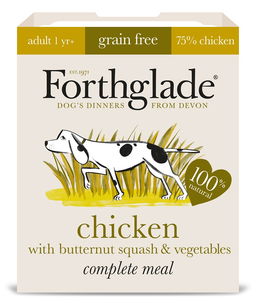 Forthglade Complete Adult Chicken 395g