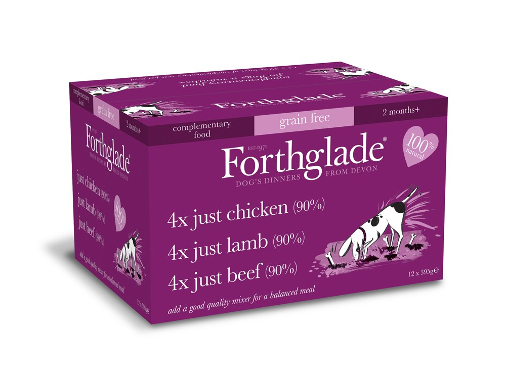 Forthglade Just Multi Grain Free 12 Pack 395g