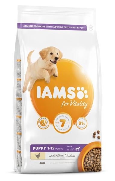 IAMS Vitality Puppy Large Chicken 2kg