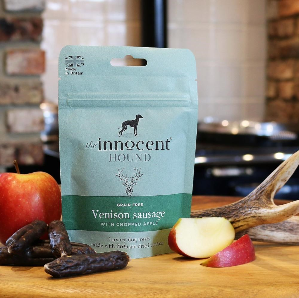 Innocent Hound Venison Sausage & Apple 7pc