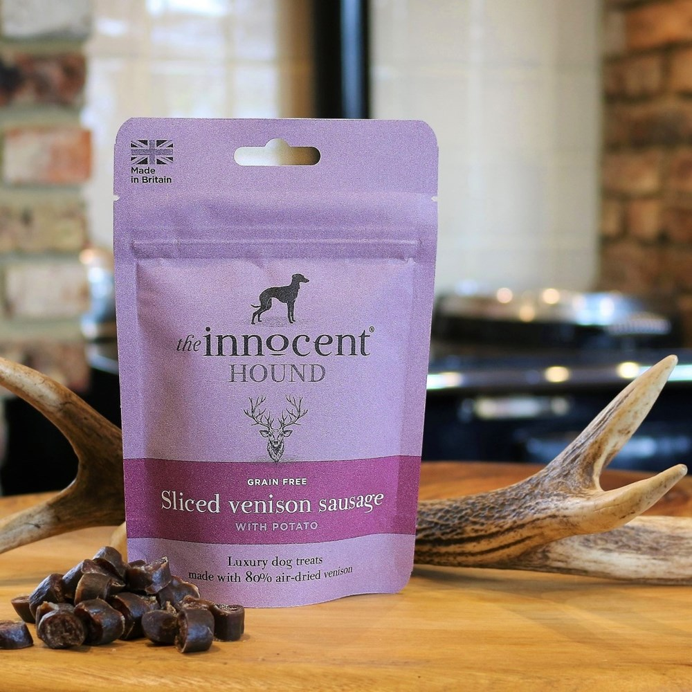 Innocent Hound Sliced Venison Sausage 70g