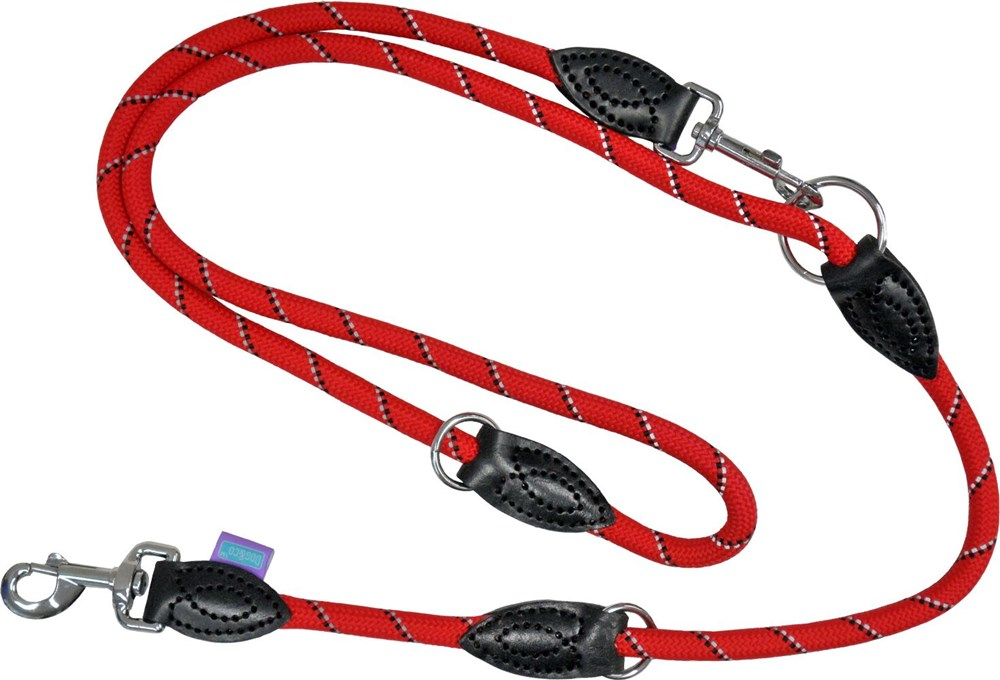 TRAINING ROPE MOUNTAIN REFLECTIVE LEAD RED 1.2x95cm - 170CM