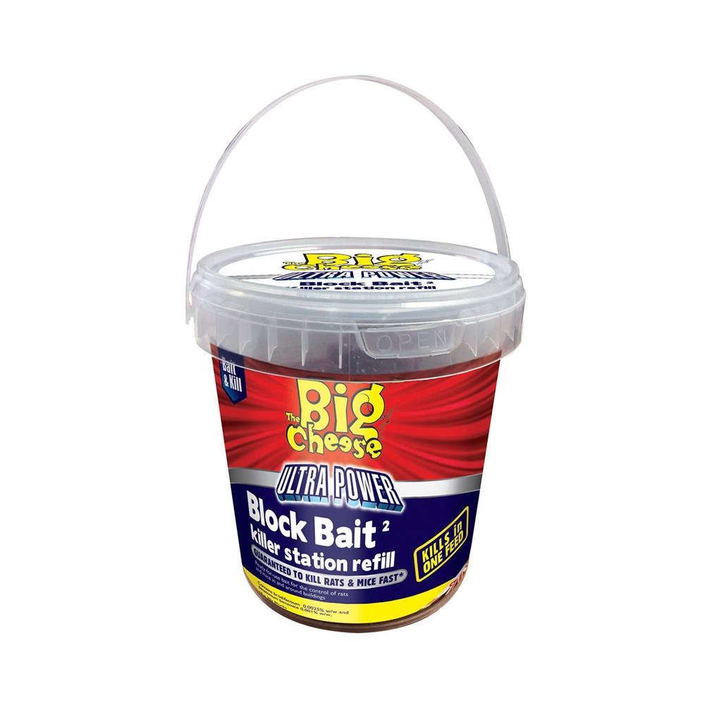 The Big Cheese Ultra Power Block Bait II Killer Station 15x20g Refill