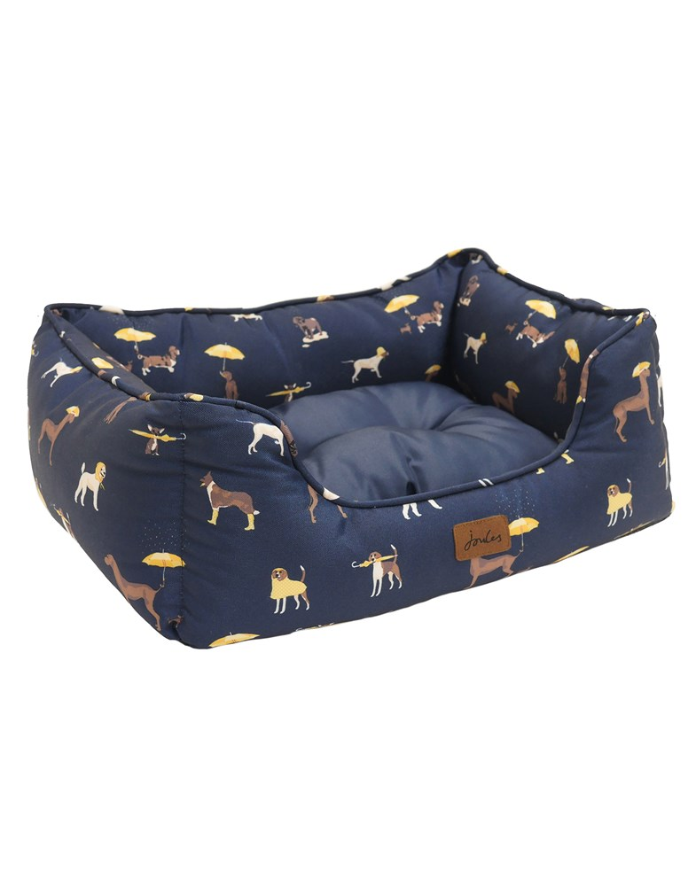 JOULES DOG PRINT BOX BED S