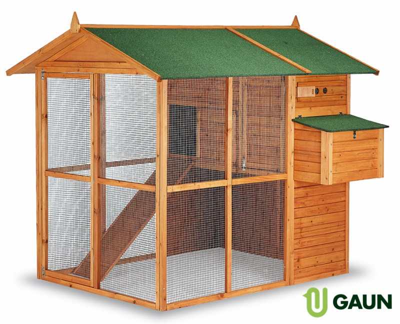 Gaun Chicken House - Brussels 193x177x173cm